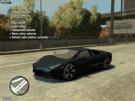 Gta 4 Lamborghini Cheats Grand Theft Auto Iv Lamborghini Revent 243 N