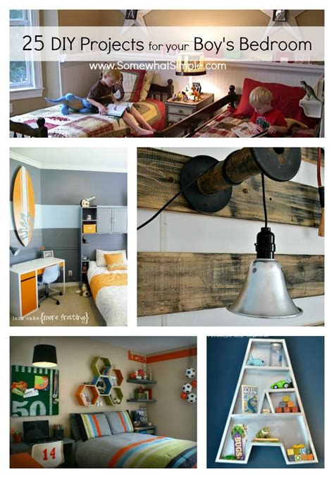 Diy Boys Room Decor Diy Boy Bedroom Projects 25 Ideas That Your Boy Will Just For