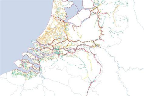 netherlands dikes map dijken nederland dikes by lola landscape