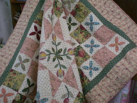 Patchwork Quilt Fabric - new tulip quilt pattern patchwork quilting fabric ebay