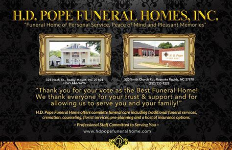 pope hd funeral homes nash rocky mount nc avie home