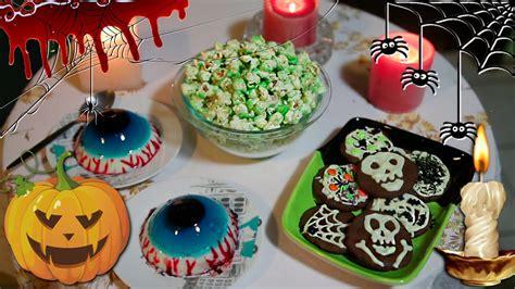 imagenes recetas halloween 3 recetas dulces para halloween youtube
