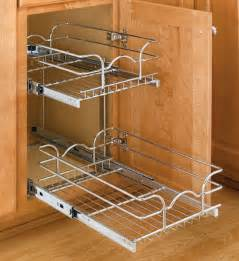 two tier cabinet organizer small in pull out