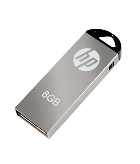 Flashdisk Pendrive 8gb hp v220 pen drive 8 gb available at snapdeal for rs 312