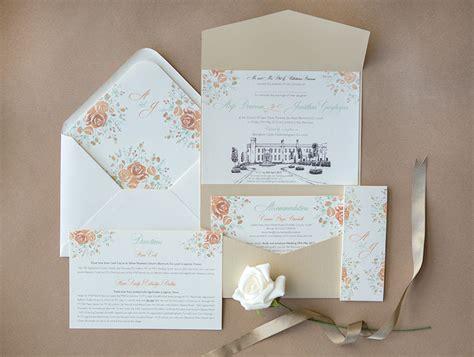 Unique Castle Wedding Invitations by Venue Wedding Invitations Wedding Stationery