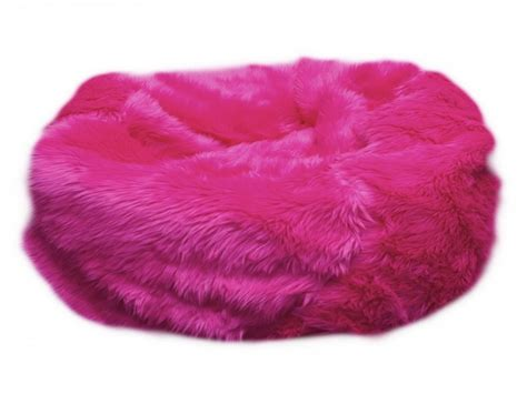 Pink Bean Bag Chair by Fur Bean Bag Pink Fluffy Bean Bag Chair Purple Bean