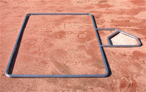 batters box template standard batter s box template az mounds