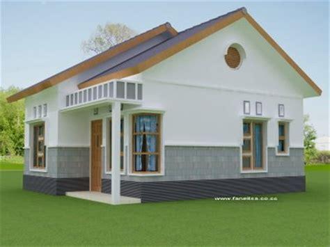 zainul desain gambar bentuk rumah sederhana