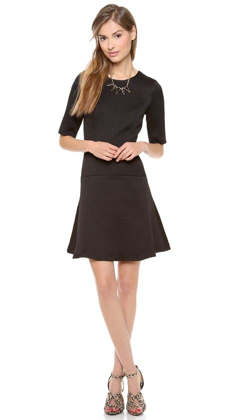 Dress Monaco lyst club monaco regan dress black in black