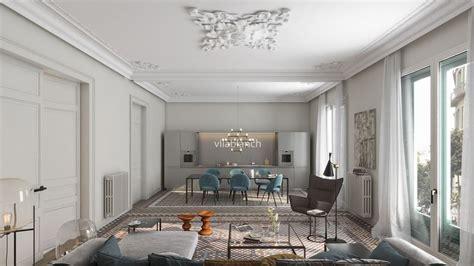 estudios de interiorismo en barcelona proyecto de interiorismo de la casa bur 233 s piso tipo