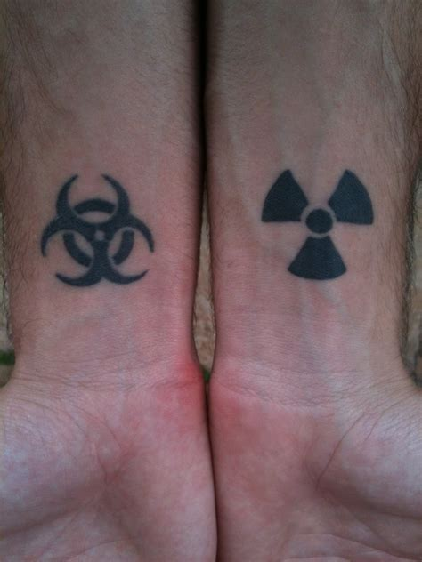 biohazard tattoo meaning biohazard e radiation by alpha42 on deviantart