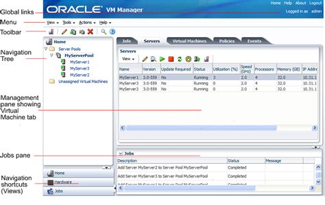 tutorial oracle vm manager using oracle vm manager