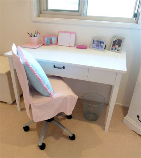desk chair covers stylish settings how to make a chair cover for a shabby