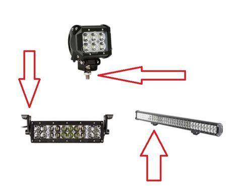 led security light bar led light bar security