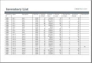 excel inventory templates excel inventory sheets templates excel templates