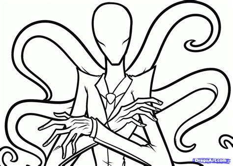 creepy coloring pages coloring home