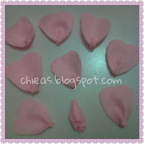 cara membuat bunga mawar dari kain flanel chieas blog cara membuat bunga mawar dari kain flanel