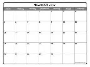 free printable calendar nov 2017 printable online calendar