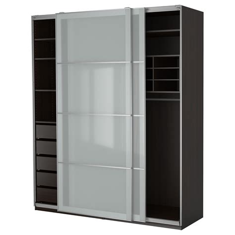 Wooden Wardrobe With Shelves High Wooden Wardrobe With Sliding Door Also Shelves