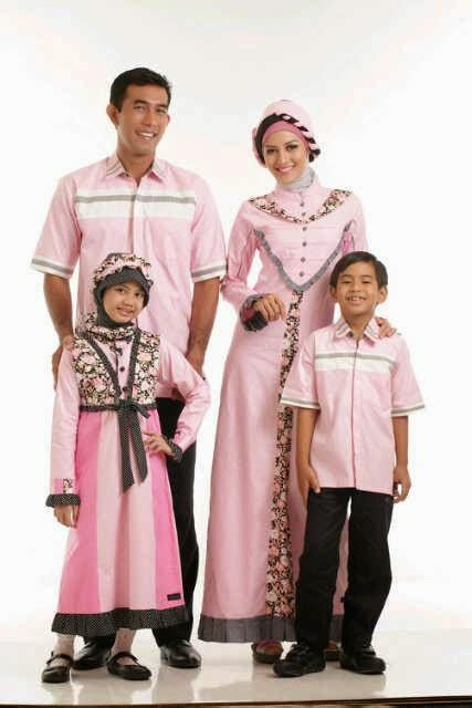 Family Set 5 Baju 15 model baju muslim family set terbaru 2017 lengkap