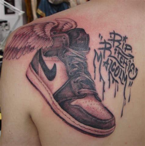 shoe tattoo stewart robson