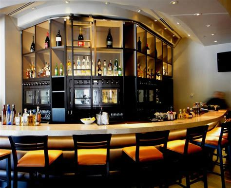bar home decor wine bar decorating ideas with nice lighting fixtures