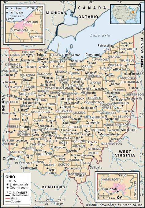 County Ohio Records Historical Facts Of Ohio Counties Research Guide