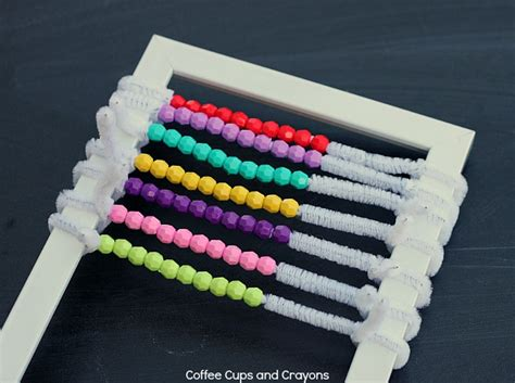 How to Make an Abacus at Home   Coffee Cups and Crayons