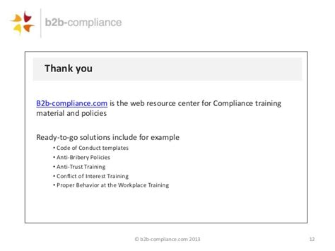 anti corruption policy template compliance officer update what you should about your
