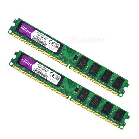 Ram Ddr2 Sandisk 4gb 2pcsx2gb ddr2 2gb ram 800mhz pc2 6400u desktop memory free shipping dealextreme