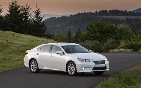 lexus es 300h hybrid 2013 widescreen car photo 11