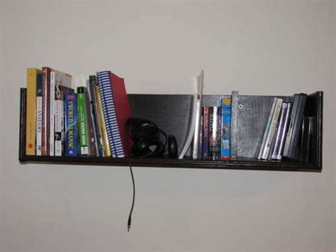 how to build wall mounted bookshelves for less than 100