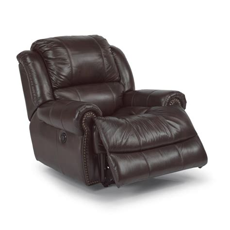 cheap power recliners flexsteel 1311 50p capitol leather power recliner discount