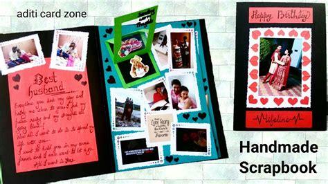 tutorial scrapbook for boyfriend valentine s day scrapbook for boyfriend husband youtube