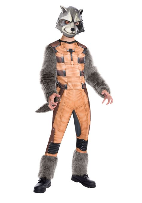 rocket raccoon costume deluxe rocket raccoon costume