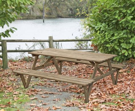 teak picnic table with benches teak 6ft garden pub bench teak picnic table