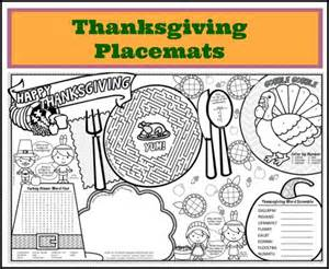 free printable thanksgiving placemats printable thanksgiving placemats for kids