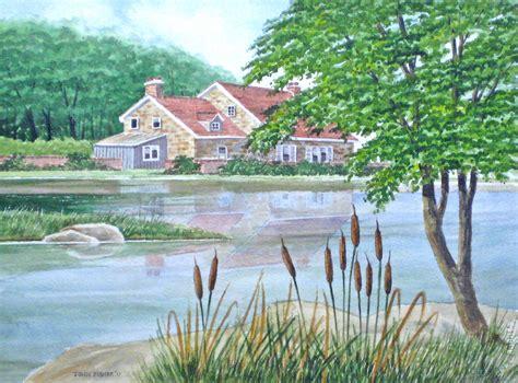 tutorial watercolor landscape how to paint a landscape in watercolor part 2