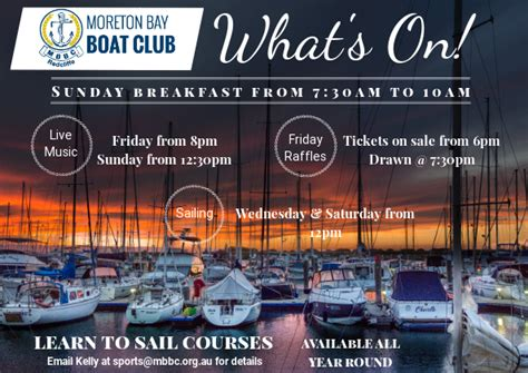 moreton bay boat club menu moreton bay boat club posts scarborough queensland
