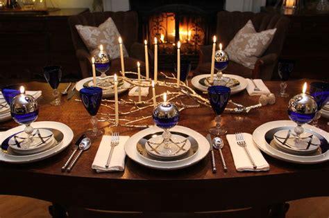 christmas decorations and hanukkah ideas traditional