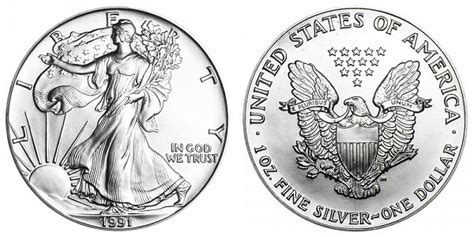 1 troy ounce american silver eagle coin value 1991 p american silver eagle bullion coins one troy ounce