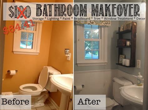 Diy Inexpensive Bathroom Ideas Two It Yourself Reveal 100 Small Bathroom Makeover