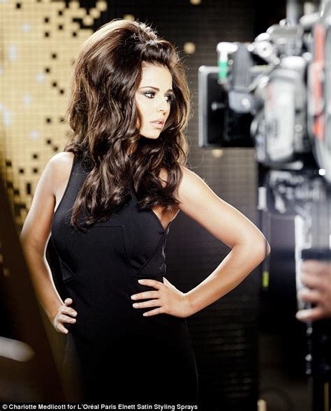 is big hair coming back in style the big hair is back cheryl cole shows off her new larger
