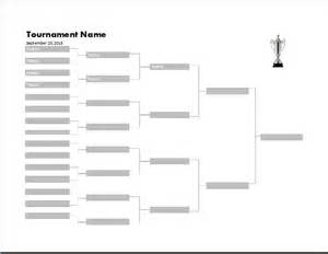 Ms excel tournament bracket template word amp excel templates