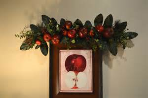 apple wall decor apple swag fall swag apple decor kitchen decor wall decor