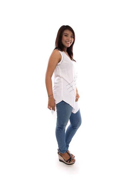 Atasan Tina by Tina White Big Size Fashion