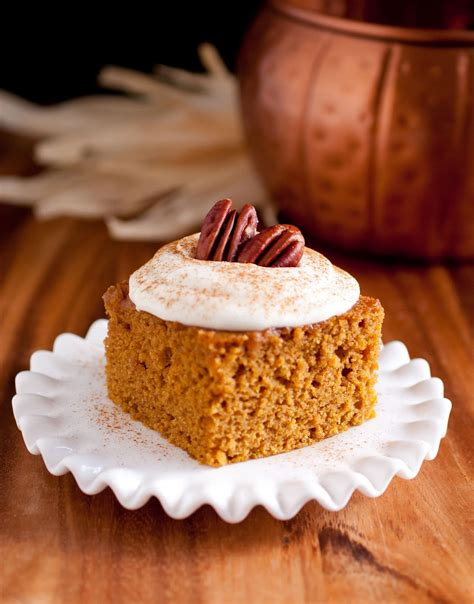 pumpkin bars with fluffy cream cheese frosting cooking classy