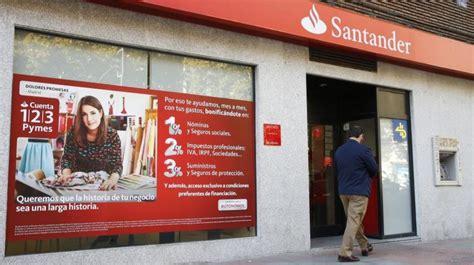 banco santander santander quot la tiene que pasar al ataque ante la