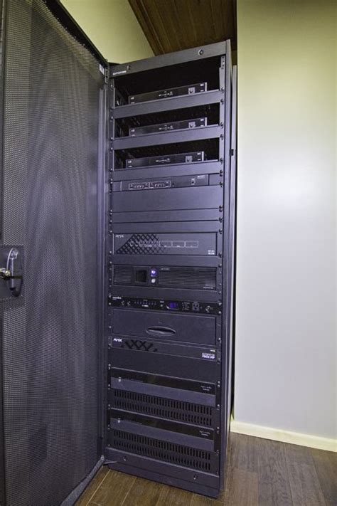 home automation equipment rack low maintenance lodge