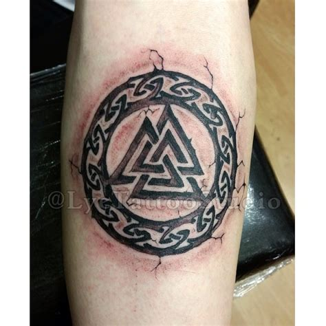 valhalla symbol tattoo tattoos inked ink tattooar